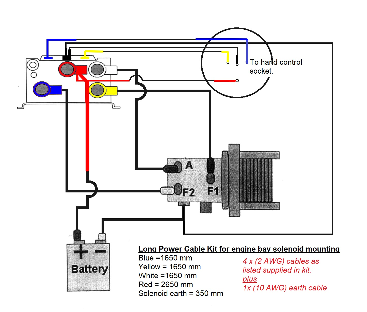 Electric Winch Wiring Diagram - wiring diagram on the net on